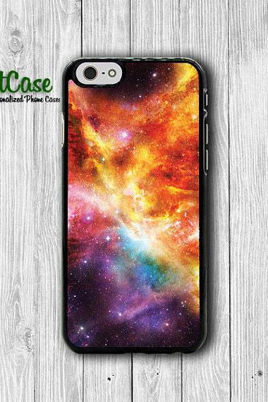 Red Galaxy Nebula Space iPhone Cases, Hipster iPhone 6 Cover, iPhone 6 Plus, iPhone 5 Hard Case, Soft Silicon, Plastic Accessory Woman Gift#1-71